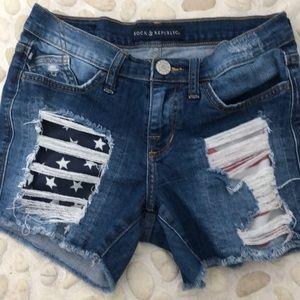 Rock & Republic Lim edition jean shorts